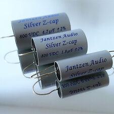 Jantzen Z-Silver Cap All Tube, 1,00 µF, 800 VDC