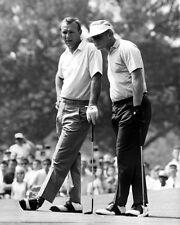 1967 Westchester JACK NICKLAUS & ARNOLD PALMER Glossy 8x10 Golf Photo Print