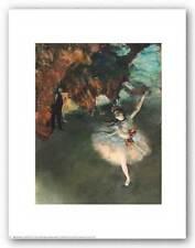DANCE ART PRINT The Star Edgar Degas 11x14