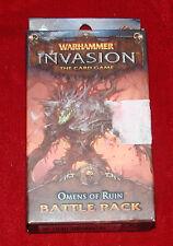 Warhammer Invasion The Card Game Omens Of Ruin Battle Pack NEW LCG