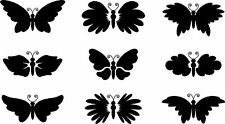 Butterfly Wall Stickers Labels Graphics Vinyl