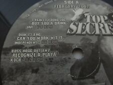 Top Secret Record FEB 2007 Hip Hop Rap TPain Quik Boss Hog JR Writer Ryan Leslie