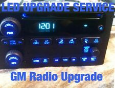 03-06 GM Silverado 6 Disc + Others Radio LIGHTING REPAIR SERVICE w/ LED Upgrade