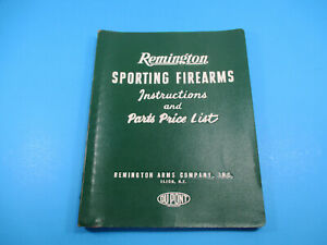 Vintage Remington Sporting Arms Instructions and Parts Price List Rev. 664