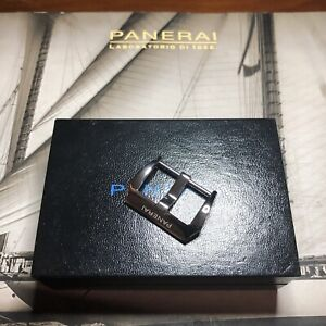 Officine Panerai Luminor Marina 44-47mm 22mm Polished Tang buckle Only. Mint.
