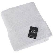 Asciugamani bianco in cotone egiziano per il bagno