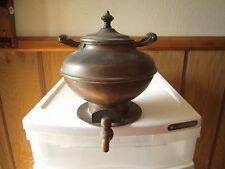 Vintage  Jos Heinrichs Paris New York Pure Copper #10 Coffee Pot APR.23.1907