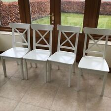 IKEA Wooden Dining Room Chairs