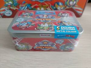 SUPERTHINGS Superzings Series 6 Sealed Speed Patrol Collector Tin Brand New