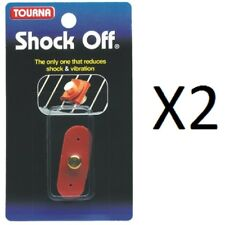 VibreX Shock Off Tourna Tennis String Vibration Dampener/Absorber OFF-1 (2-Pack)