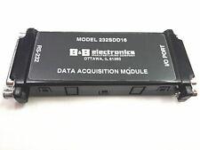 Bampb Electronics 232sdd16 16 Channel Rs232 Data Acquisition Module Free Shipping