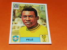 38 PELE BRASIL BRESIL MEXICO 70 FOOTBALL PANINI WORLD CUP STORY 1990 SONRIC'S