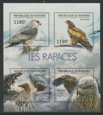 Burundi - 2012, Birds of Prey, Eagles sheet - MNH