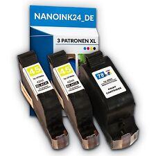 3x Tintenpatronen für 2x HP 45 XL und 78 XL Deskjet 930 930C 815 820  bei Nano