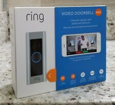 RING Video Doorbell PRO 1080p Full HD Wi-Fi (Hardwired) - SEALED Brand NEW