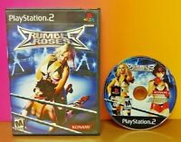 Rumble Roses Wrestling Konami  - Playstation 2 PS2 Game Tested Near Mint Disc !
