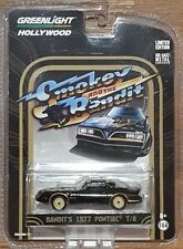 GREENLIGHT Hollywood series 11 - SMOKEY AND THE BANDIT - 1977 Pontiac T/A - 1:64