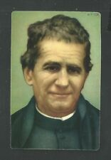 Estampa San Juan de Bosco andachtsbild santino holy card santini