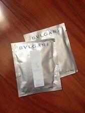 2x BVLGARI TEA BAG FOR BATH Eau Parfumee au the blanc sachet white tea bags