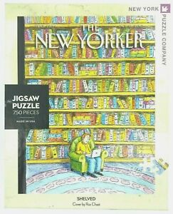The New Yorker Shelved Puzzle 750 Pieces 2010 Conde Nast Book Lover USA