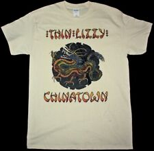 Thin Lizzy Chinatown Rock Phyl Lynott Whiskey In The Jar New Natural T-Shirt