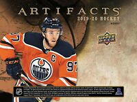2019-20 UPPER DECK ARTIFACTS SINGLE BOX BREAK # 19 - SELECT A TEAM
