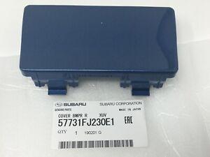 2013-2017 Subaru Crosstrek Tow Hitch Bumper Cover Quartz Blue 57731FJ230E1 OEM