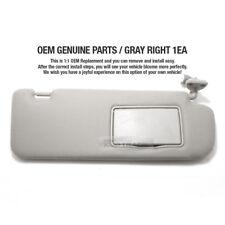 OEM Parts Interior Hand Sun Visor Shade RH Gray for HYUNDAI 06-10 Sonata NF i45