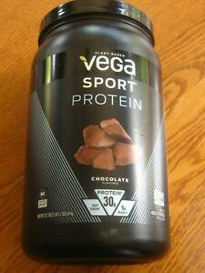 VEGA Sport Protein Chocolate 21.7 oz. 30g Protein 14 Servings  07/21