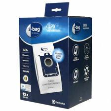 Electrolux E201SM Pack de 12 Sacs d'Aspirateur - Blancs