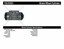Drum Brake Wheel Cylinder-w/o ABS Rear Centric 135.51021