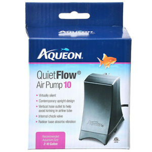 AQUEON AQUARIUM QUIET FLOW AIR PUMPS (ALL SIZES) NEW