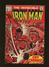 Iron Man 13 FN+ 6.5 * 1 Book Lot * Captives of the Controller by Goodwin & Tuska