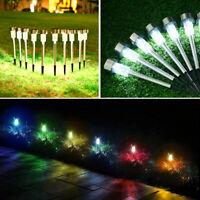Rostfreier Stahl LED Solarlampe Leuchte Gartenlicht Außen-Beleuchtung Leuchte