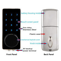 Hot Sales Door Lock Bluetooth Keyless Lock Panel by Smartphone for Home Entry