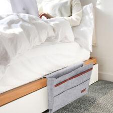 Felt Bedside Cute Organizer Bed Pocket Hanging Storage Bag Phone/Book/Pad Holder