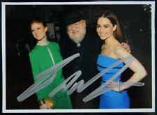 GAME OF THRONES GEORGE RR MARTIN SIGNED PHOTOGRAPH PSA DNA GUARANTEE AUTO