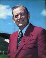 Paul Bear Bryant Jsa Coa Autographed 8x10 Photo Authentic Signed Alabama