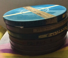 Bulk lot 6 1200ft film cans 16mm empty plastic movie film cans tins rare reel