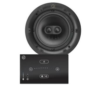 """Systemline E50 Bluetooth System 6.5"""" Single Stereo Ceiling Speaker (QI65CST)"""