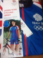 BNWT Ladies Team GB RIO OLYMPICS 2016 Cycling Jersey Size 12-14 Medium