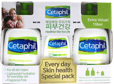 Cetaphil Moisturizing Lotion Skin Health Special Pack Two 591 ml + One 118 ml