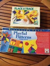 Playful Patterns Design Activity by Discovery Toys and Place and Trace