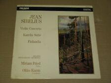 MIRIAM FRIED violin - SIBELIUS: VIOLIN CONCERTO  RARE FINLANDIA DIGITAL FAD 360