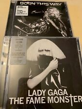 Lady Gaga : The Fame Monster CD Deluxe  Album 2 discs & Born This Way 2 Albums