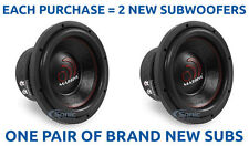 "(2) MASSIVE AUDIO GTX 104 2800 Watt 10"" inch Dual 4 Ohm Car Subwoofers Package!"