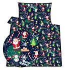 Christmas Santa baby toddler cot /cot bed bedding set  duvet cover pillowcase