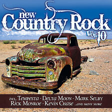 CD NEW COUNTRY ROCK VOLUME 10 d'Artistes Divers