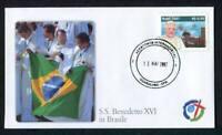 23818) Vatican 2007 FDC Pape Benoît XVI en Brésil 13.5.2007
