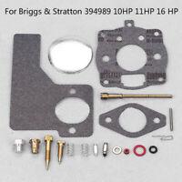 Carburetor Repair Kit Fits For Briggs & Stratton 394989 10HP ,11HP, 16 HP Engine